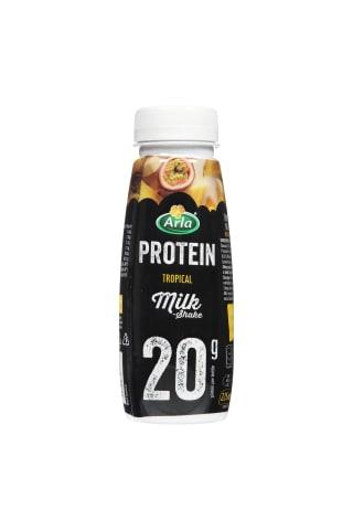 Pieno kokteilis su tropiniais vaisiais ARLA PROTEIN, 225 ml
