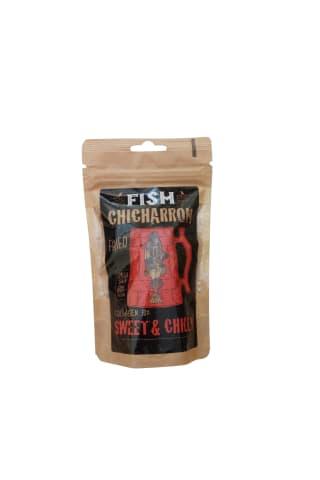 Žuvies traškučiai su saldžiomis aitriosiomis paprikomis  FISH CHICHARRON CHICHARRON, 30 g