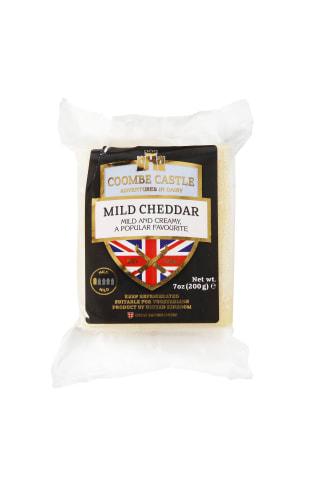 Švelnaus skonio baltasis čederio sūris COOMBE CASTLE,  200 g