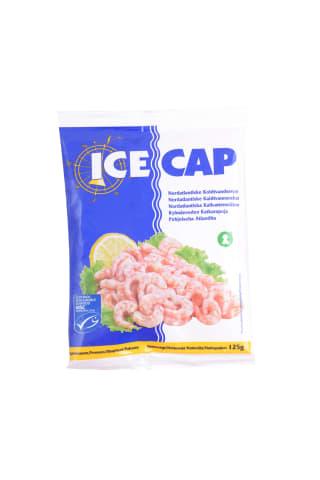 Garneles Icecap Ziemeļu tīrītas saldētas 500-800 125g