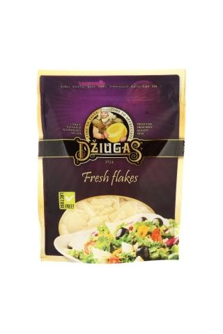 Kietas sūris tarkuotas skiedrelėmis DŽIUGAS, 40 % riebumo, 100 g