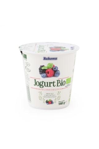 Jogurts ar meža ogām BIO 140g