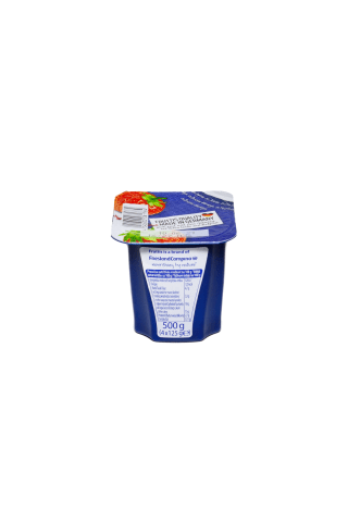 Jogurts Fruttis persiku, marakujas, zemeņu 125g