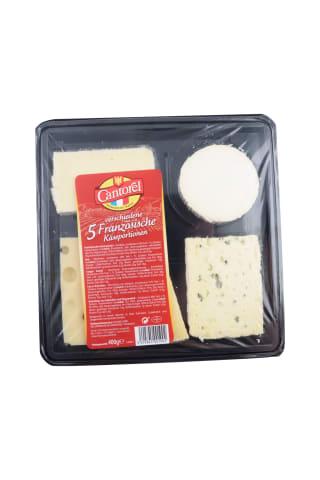 Piecu franču sieru komplekts 400g