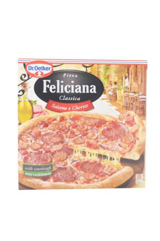 Pica Feliciana ar salami un čorizo desu dziļi saldēta 320g