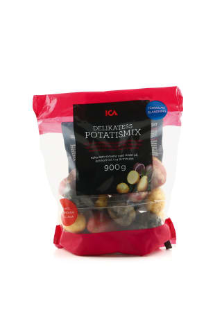 Kartupeļi Delikatess Mix ICA, 900g