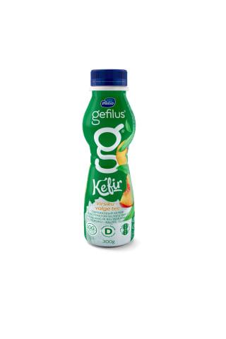 Kefīrs Gefilus persiku zaļās tējas 300g