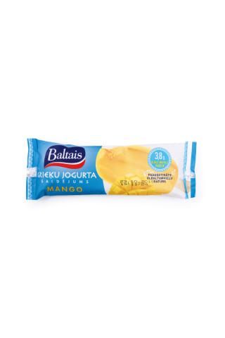Saldējums Baltais grieķu jogurta mango 90ml