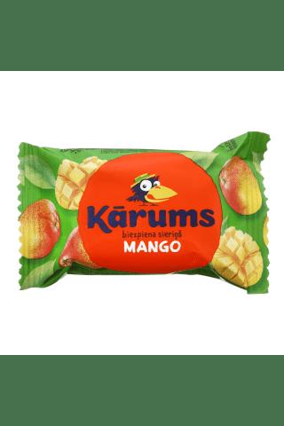 Varškės sūrelis su mangais KĀRUMS, 21,3 % riebumo, 45 g