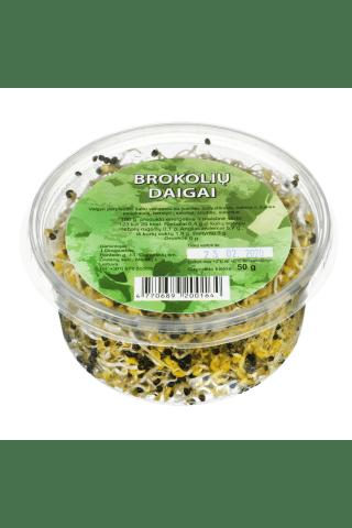 Brokolių daigai, 50 g