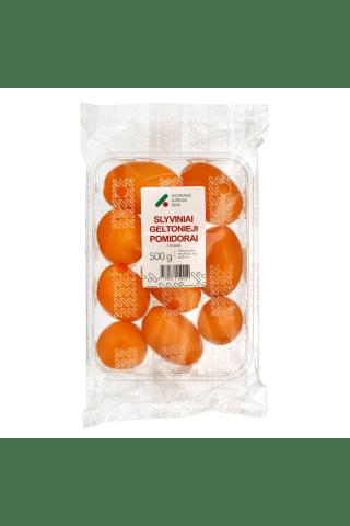 Geltonieji slyviniai pomidorai, 500 g