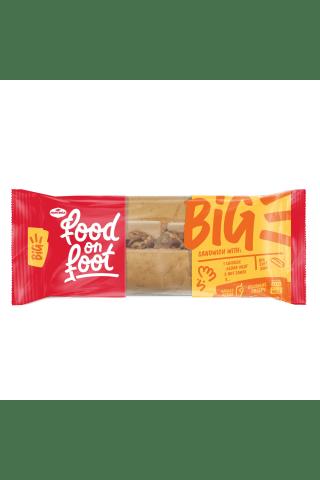 Sumuštinis su vištienos kebabu, aštriu padažu ir saldikliais BIG SUBMARINAS MANTINGA, 240 g