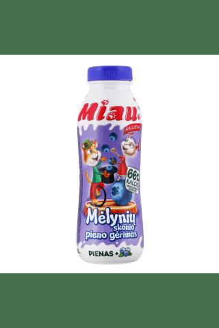 Sterilizuotas mėlynių skonio pieno gėrimas MIAU, 450 ml
